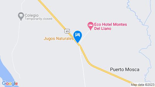 Eco Hotel Montes Del Llano Map