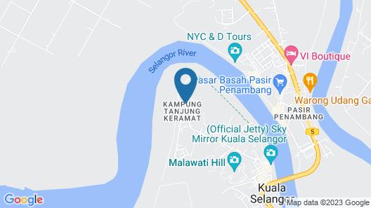 De Palma Hotel Kuala Selangor Map