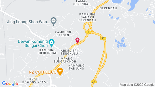 Carpe Diem Orchard Home Map