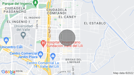 Fancy Apartment with kitchen Near Ciudad Jardin Map