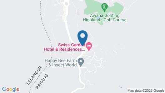 Geo Resort & Hotel Map
