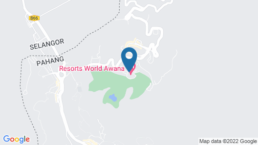 Resorts World Awana Map
