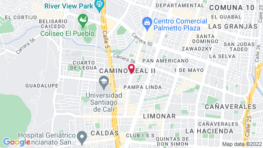 Hotel Lord Star Cali Map