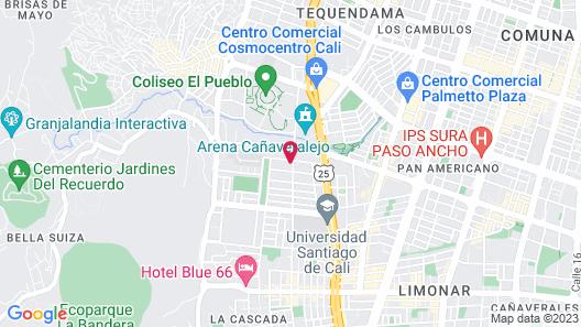 Cañaveralejo Map