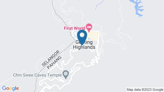 Resorts World Genting - Resort Hotel Map