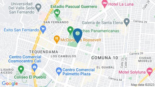 LC Apartahotel Map