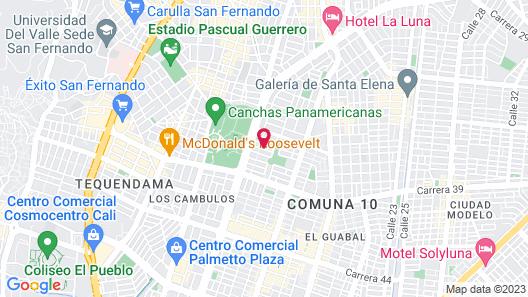 Casa Santiago Mayor Map