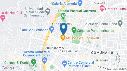 Alcazaba Map