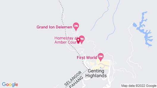 Homestay in Amber Court Map