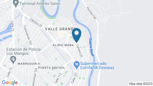 Alquiler De Casas Amobladas En Ciudad Jardin Map