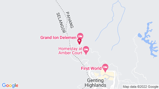 Gloria Residences Ion Delemen Map