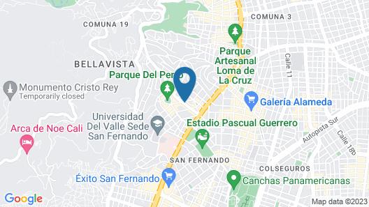 Sunflower Hostel Map