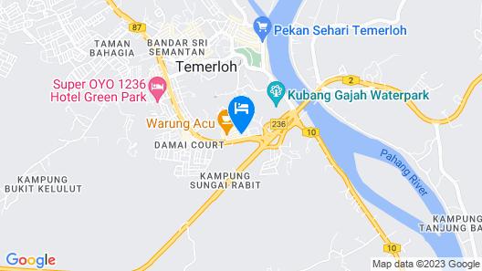 MERRINTON HOTEL Map