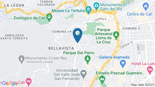 Deportel Calì Map