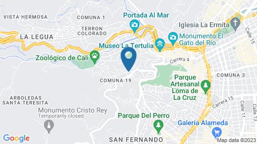La Pinta Boogaloo - Hostel Map