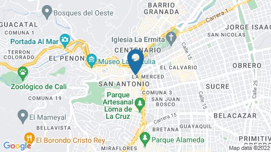 Lulos Hostal Boutique Map