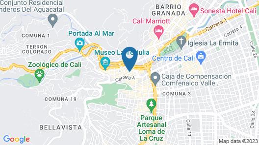 Hotel el Peñón Map