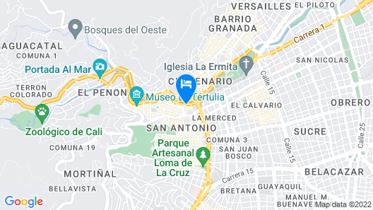 InterContinental Cali Map