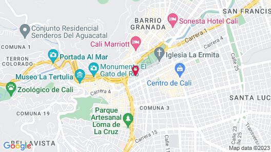Hotel Faranda Collection Cali Map