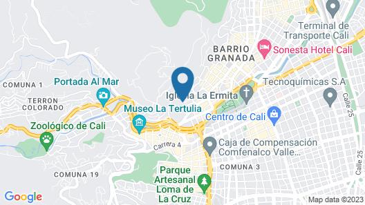 Edificio Castellón de Juanambú Map