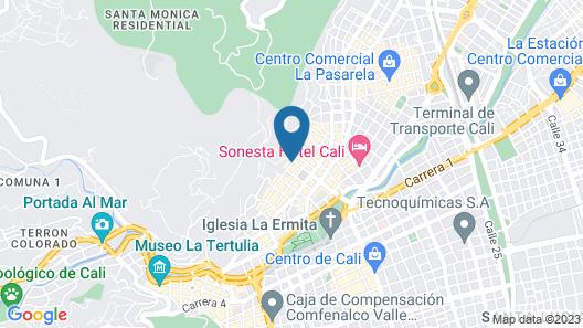 La Sucursal Hostel - Adults only Map