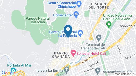 Casa Blanca Hostel Map