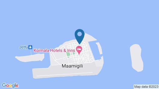 Chill Holiday Maldives Map