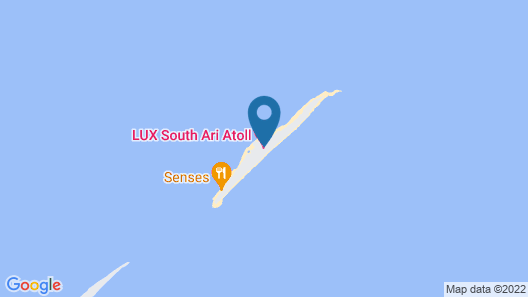 LUX* South Ari Atoll Resort & Villas Map