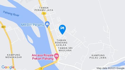 Seri Rendang Homestay Pekan Pahang Map