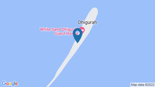 Live you Dream on the Island of Dhigurah, Enjoying the Amenities Offered Map