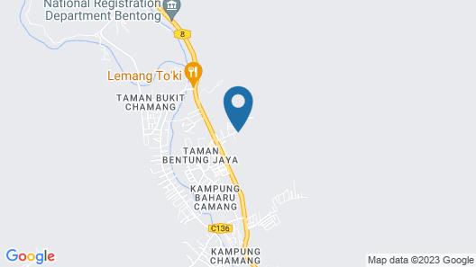 Villa, Hot & Cold Water Supply, Durian, Palm Garden Park, Waterfall, hot Spring Map