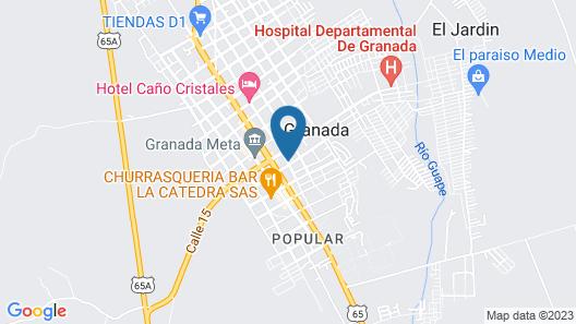 Hotel Confort Ariari Map