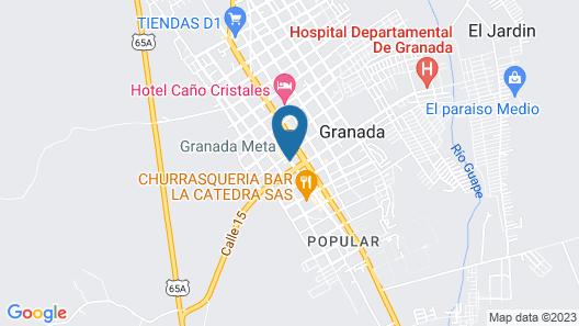 Hotel Alhambra Map