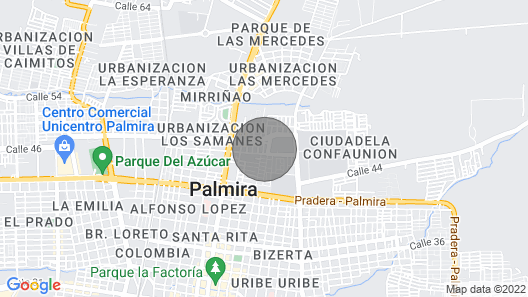 Apartment and Furnished in Neighborhood Altamira Map