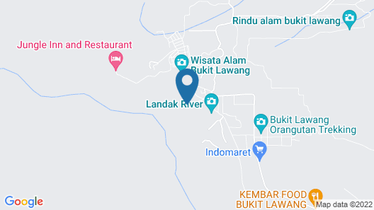 Ecolodge Bukit Lawang Map