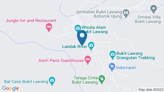 RedDoorz Premium @ The Heritage Bukit Lawang Map
