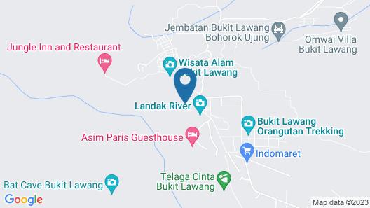 The Heritage Resort & Restaurant Map