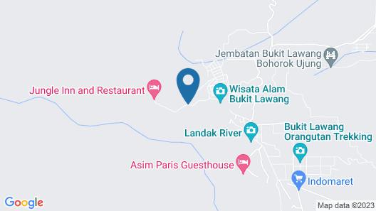 Hotel Orangutan Map