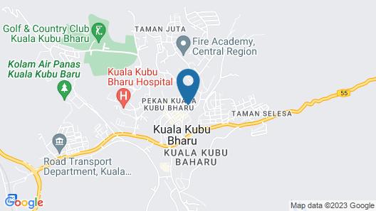 OYO 89584 Hotel Sahara Kuala Kubu Bharu Map