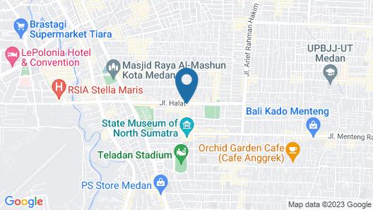 D&D Guest House & Cafe Syariah Map