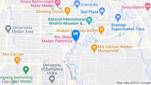 ibis Styles Medan Pattimura Map