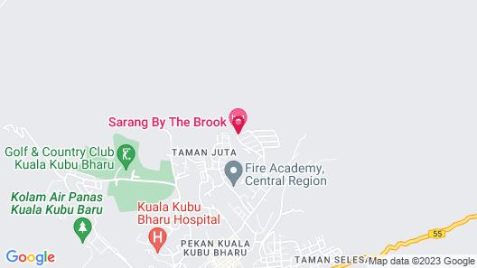 Sarang by the brook Map