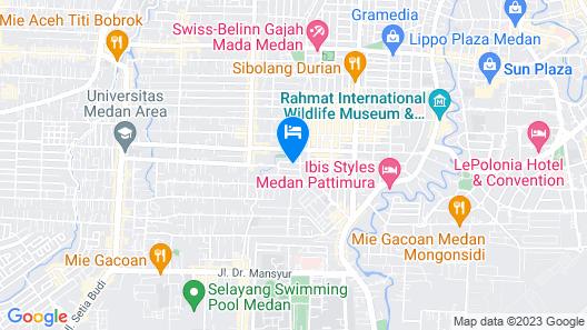 De'Tonga Hotel Map