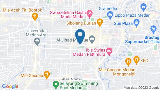 Deli Hotel Map