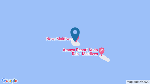 Vakarufalhi Maldives Map