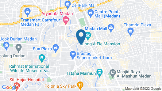 Royal Suite Condotel Map