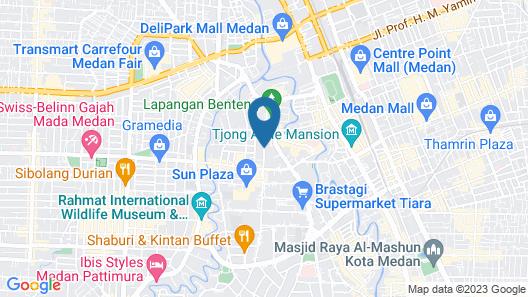 Adimulia Hotel Medan Map