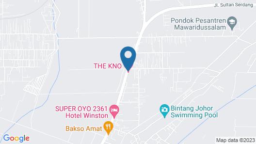 CREW EXPRESS HOTEL Map