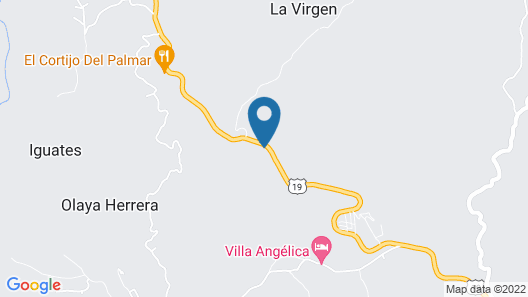 San Julio Hospedaje Campestre Map