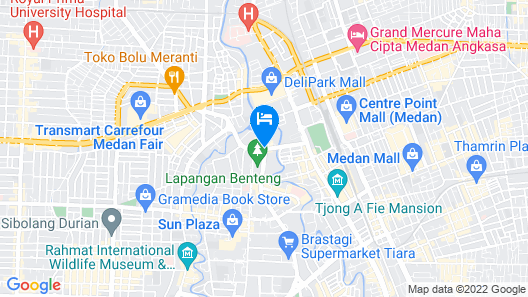 Aryaduta Medan Map